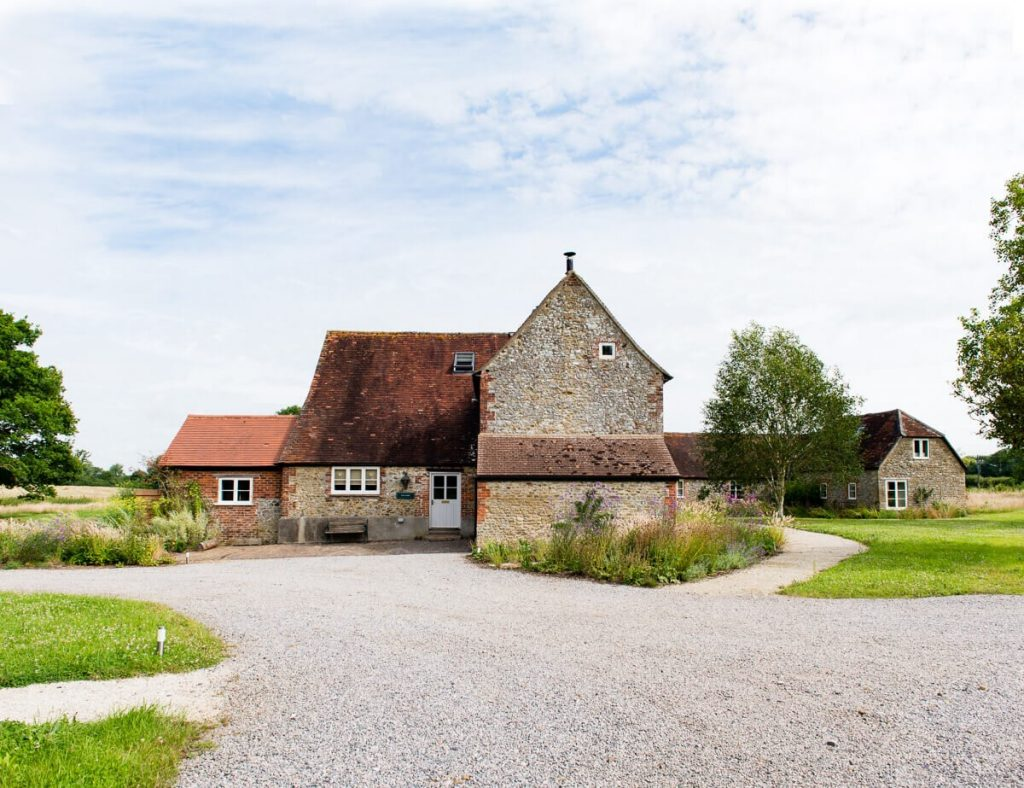 Country house in English countryside