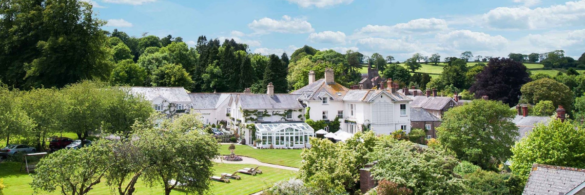 Country house and wellness retreat in the English countryside